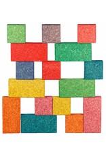 Korxx Cuboid C Mix - 19 gekleurde bouwblokken
