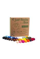 Crayon Rocks Just Rocks in a box - 2 x 32 kleuren - 64 krijtjes in een kraft doos