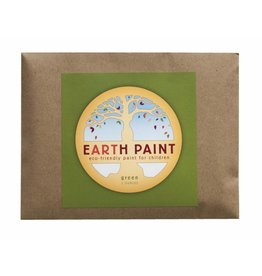 Natural Earth Paint Children's Earth Paint per kleur - groen