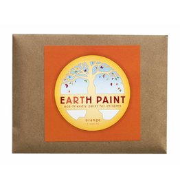 Natural Earth Paint Children's Earth Paint per kleur - oranje