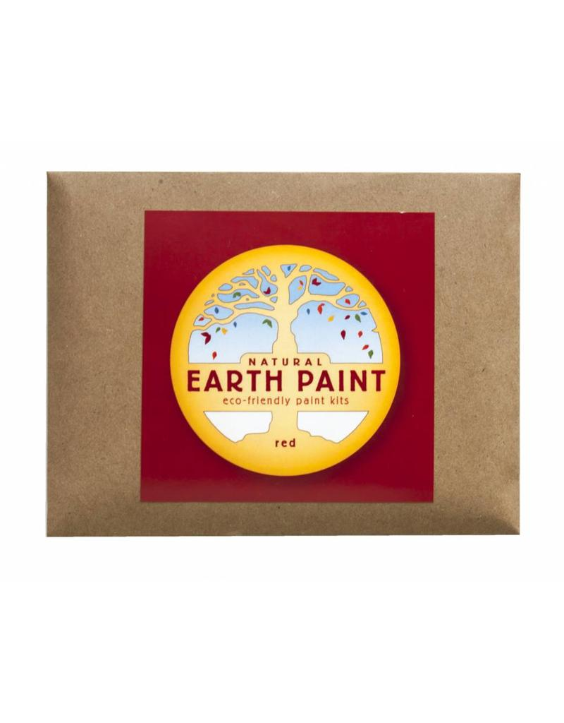 Natural Earth Paint Children's Earth Paint by Color - red