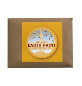 Natural Earth Paint Children's Earth Paint per kleur - geel
