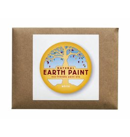 Natural Earth Paint Children's Earth Paint per kleur - wit