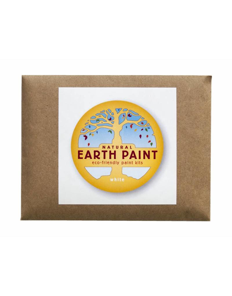 Natural Earth Paint Children's Earth Paint by Color - white