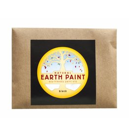 Natural Earth Paint Children's Earth Paint per kleur - zwart