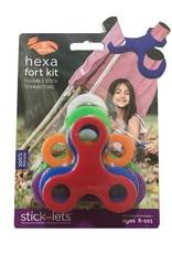 Stick-lets Stick-lets Hexa kit 6 stick-lets - startset