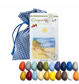 Crayon Rocks Seaside bag - Twintig (20) Crayon Rocks