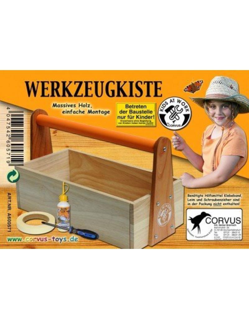 Kids at work Gereedschapskist hout