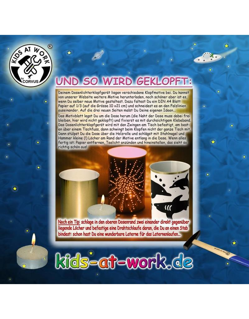Kids at work DIY Bliklantaarn