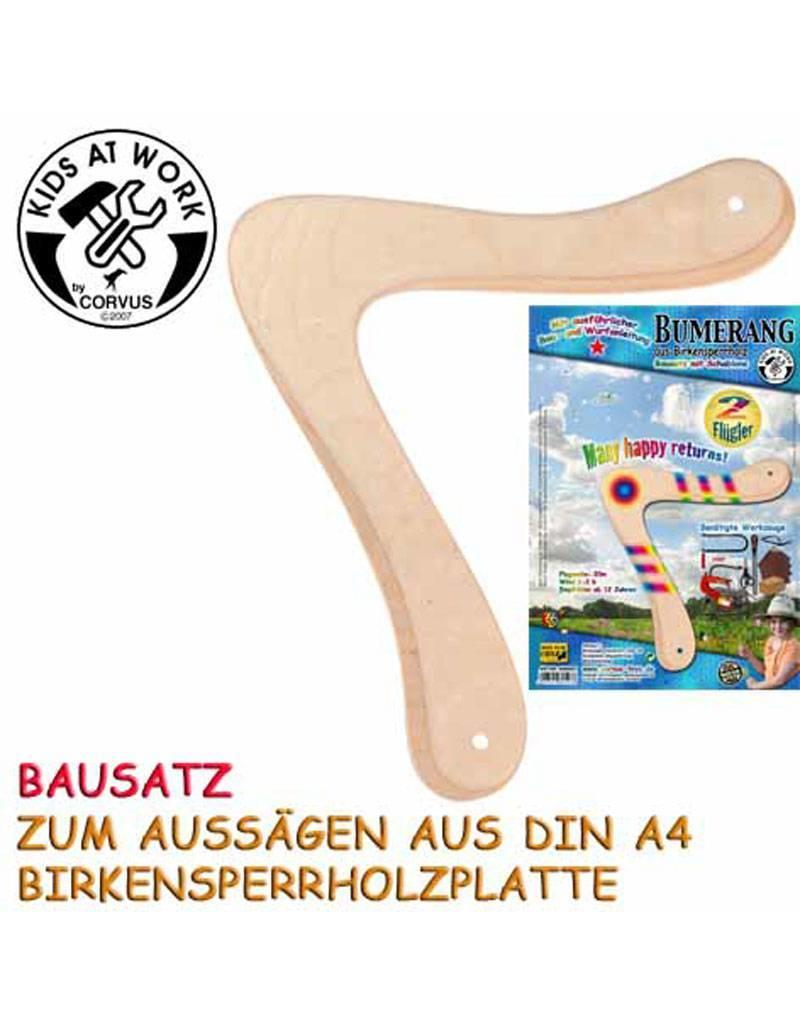 Kids at work Boomerang DIY pakket