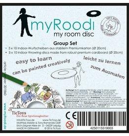 TicToys MyRoodi, frisbee groepsbox
