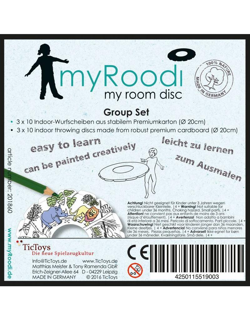 TicToys MyRoodi, frisbees groepsbox