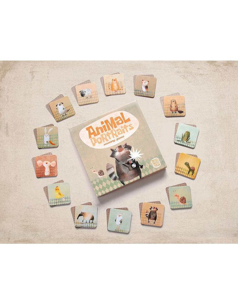 Marbushka Memory Animal portraits - dieren portretten