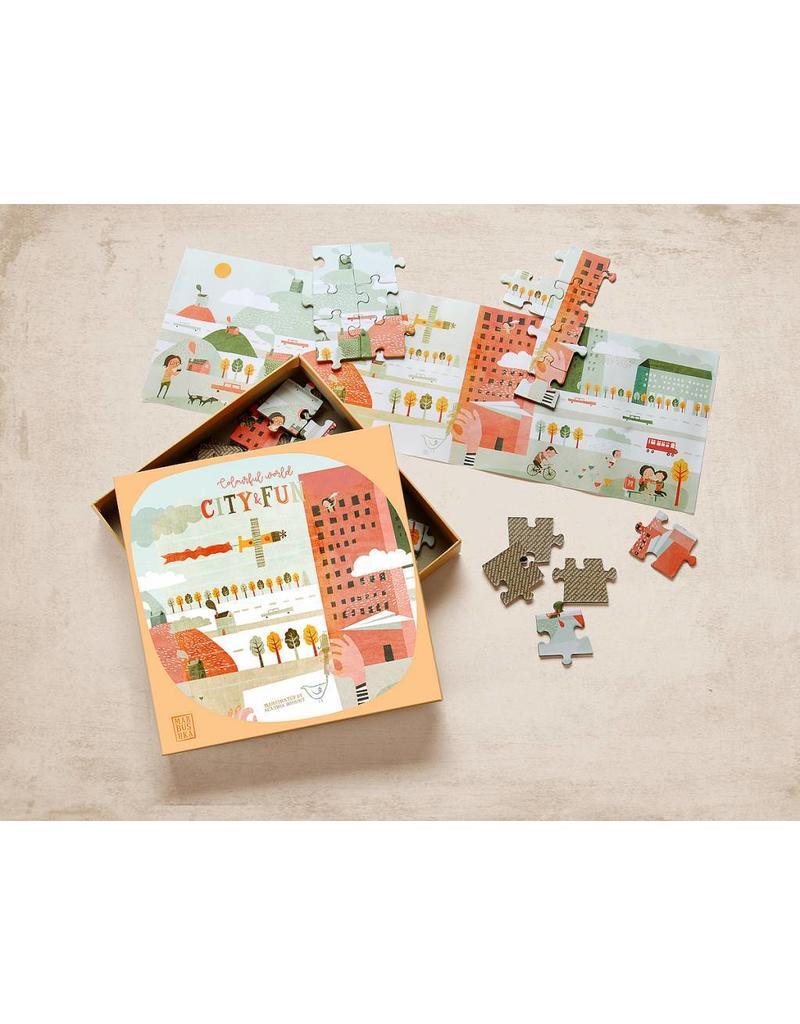 Marbushka Colourful world- City & Fun