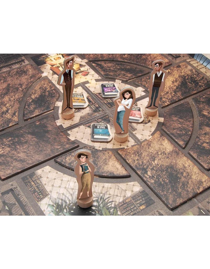 Marbushka The Mysterious Library - De Bibliotheek der Mysterie