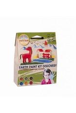 Natural Earth Paint Children's Earth Paint Kit Discovery voor een liter natuurlijke kinderverf