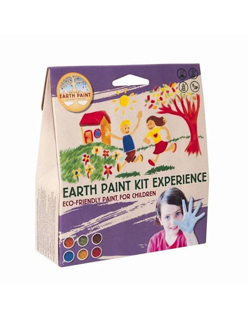Natural Earth Paint Children's Earth Paint Kit Experience - 2 liters of ecofriendly paint for children