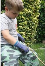 Kids at work Zakmes voor stokken slijpen