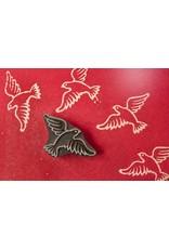 Blockwallah Block stamp Peace Bird