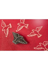 Blockwallah Blokstempel Peace Bird