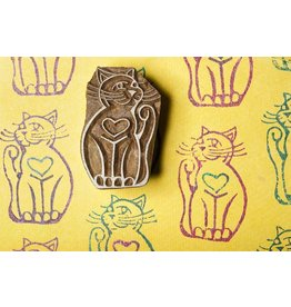 Blockwallah Block stamp  Cat