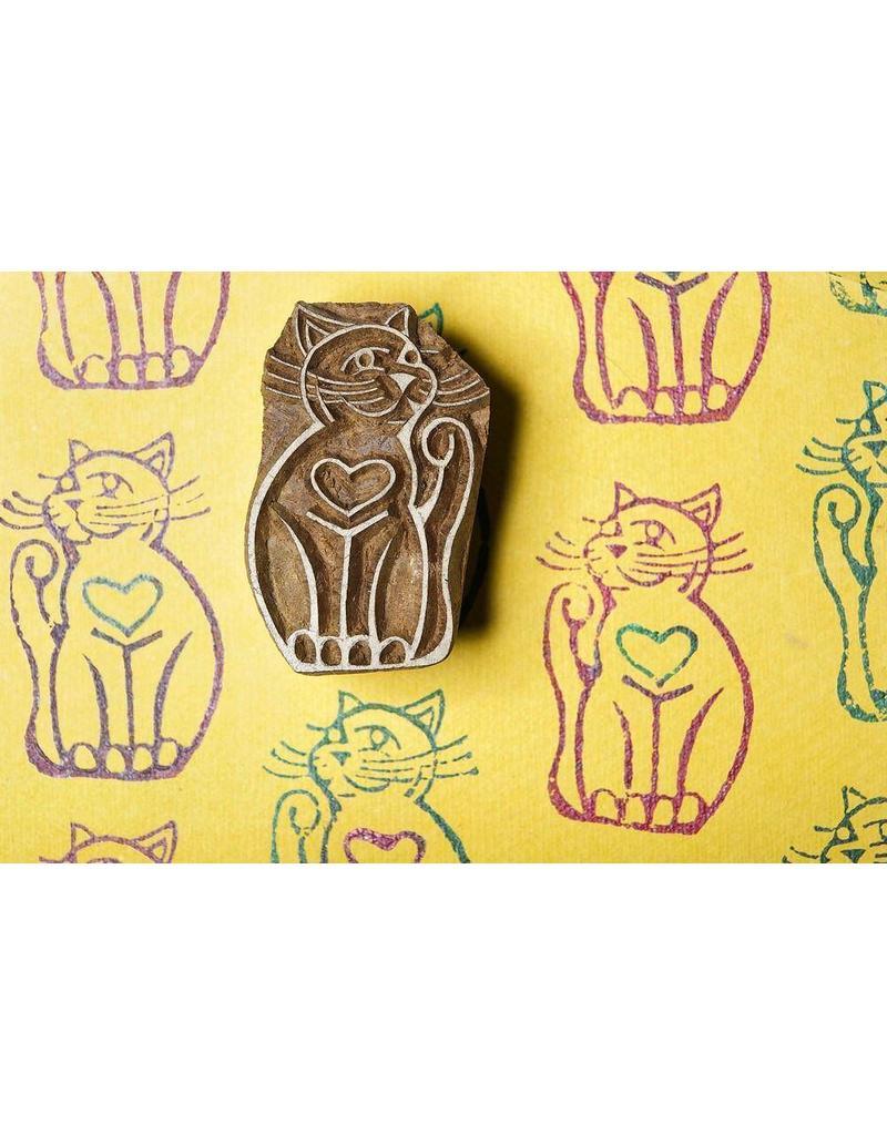 Blockwallah Block stamp  Cat