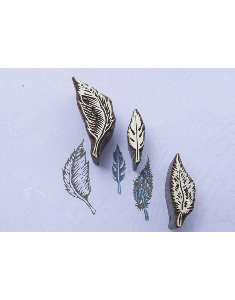 Blockwallah Block stamp feather set