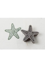 Blockwallah Block stamp  Starfish