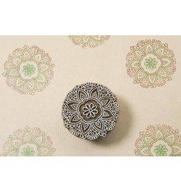 Blockwallah Block stamp Crochet Mandala