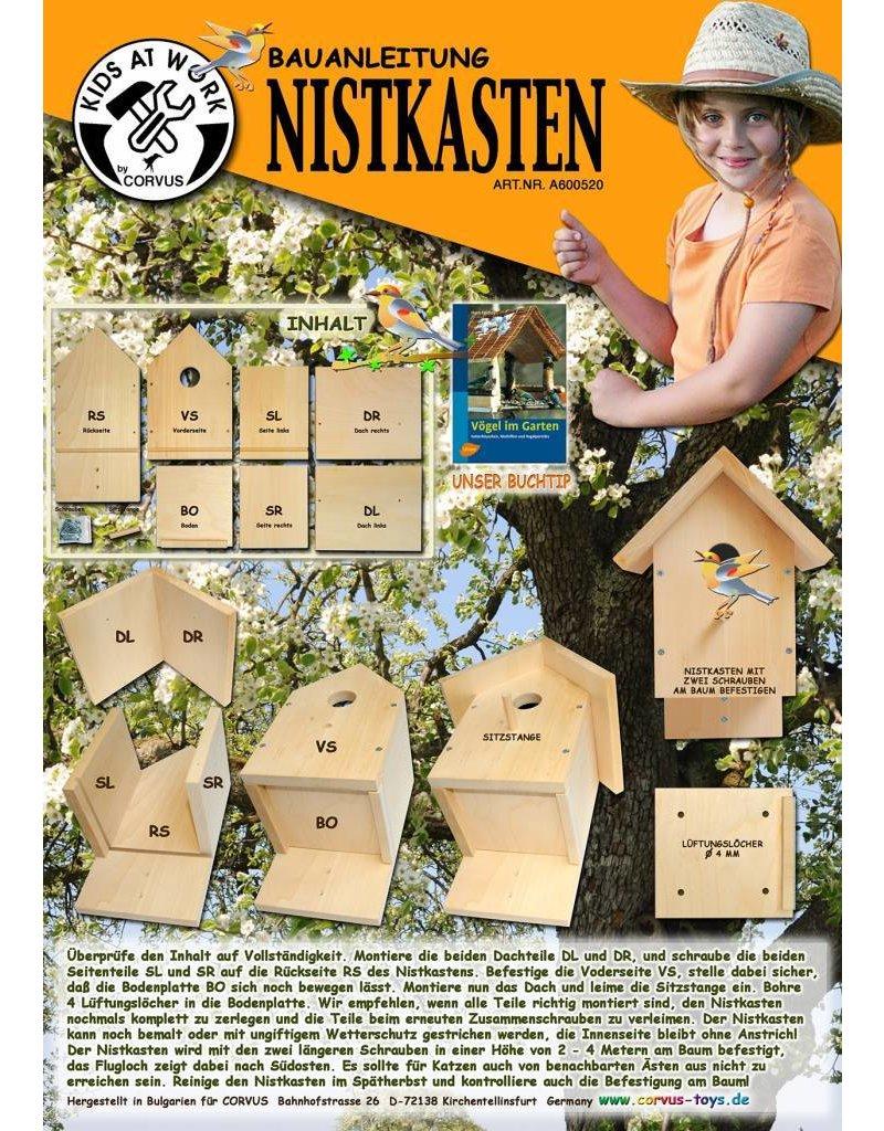 Kids at work Nestkastje bouwpakket