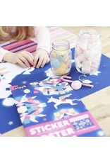 Poppik Make your own sticker poster - STERRENBEELD
