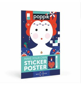 Poppik Make your own sticker poster - THE QUEEN