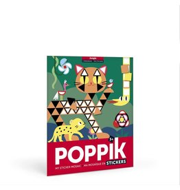 Poppik Make your own sticker poster - JUNGLE