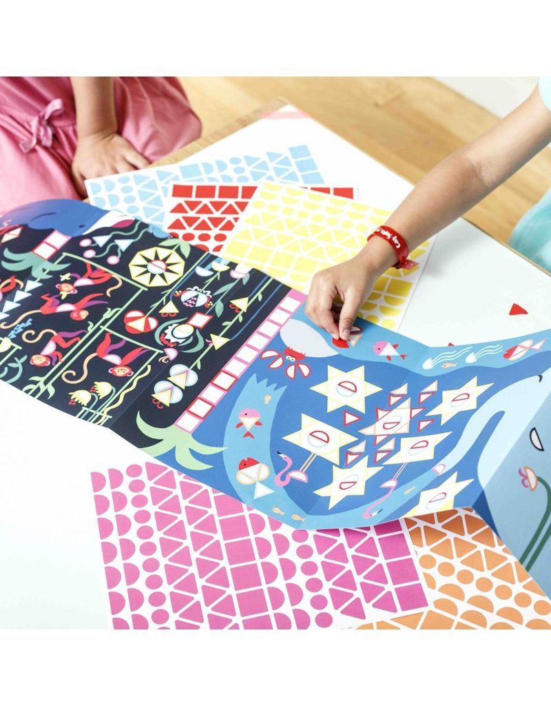 Poppik Make your own sticker poster - Jungle