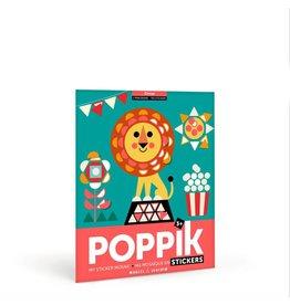 Poppik My sticker mosaic - Circus
