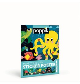 Poppik Make your own sticker poster - AQUARIUM