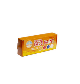 Natural Earth Paint Natural Face Paint Kit Mini - 4 kleuren