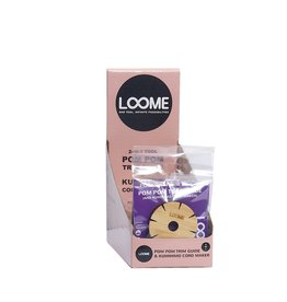 Loome The Loome Display incl. 20 PomPom trimmer