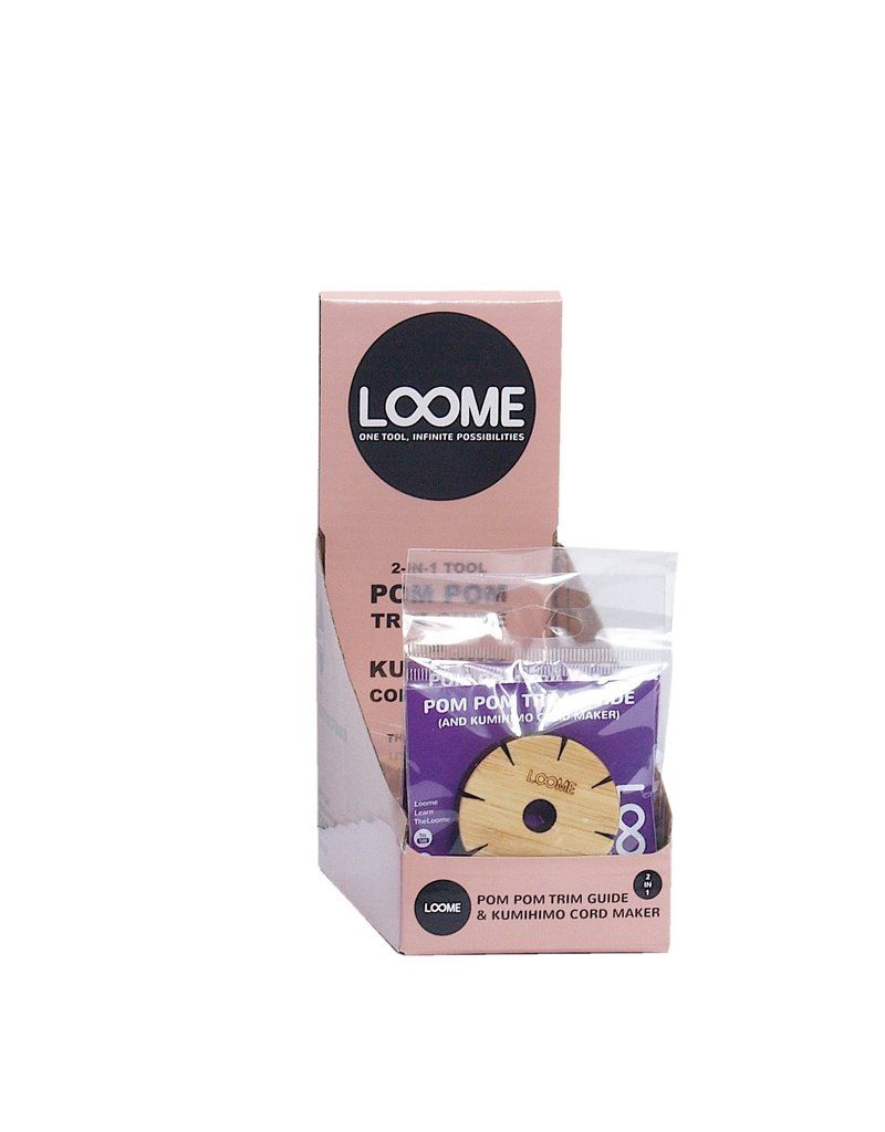 Loome The Loome Display incl 20 PomPom trimmer