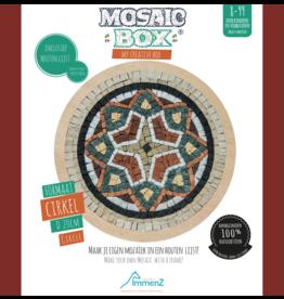 Neptune Mosaic Mosaicbox mozaiek Mandala 3 met lijst 20 cm