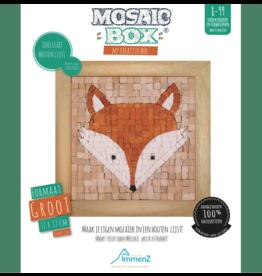 Neptune Mosaic Mosaicbox - Mozaiek met lijst Vos 17 cm