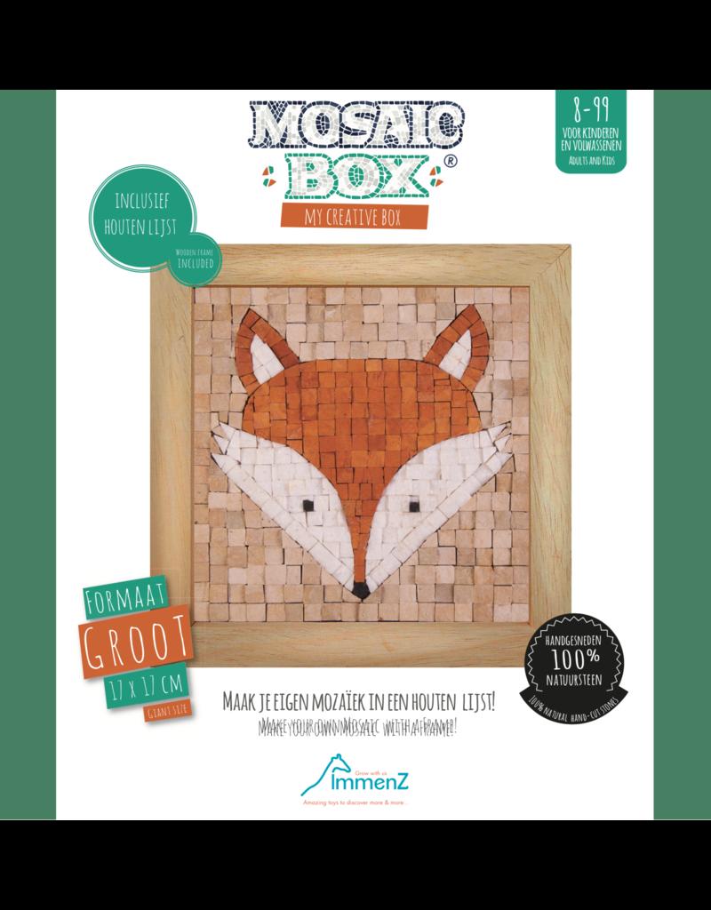 Neptune Mosaic Neptune Mosaic Giant Mosaicbox Fox 2 Face