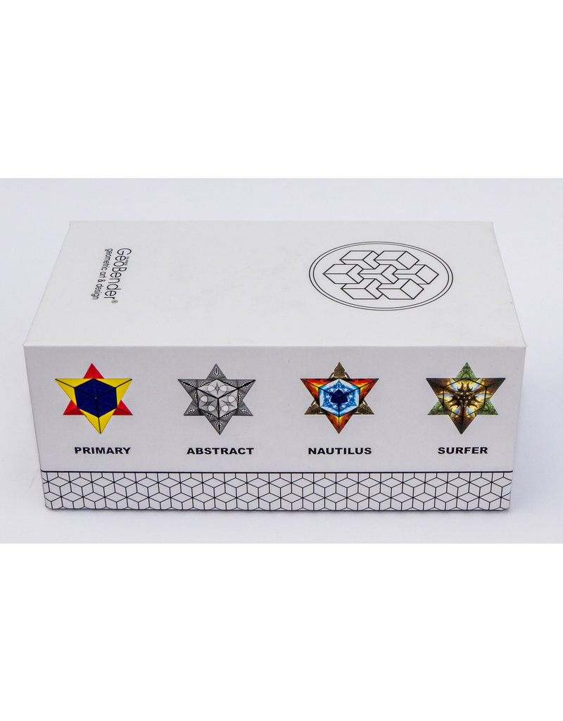Geobender Geocube Abstract set van twee