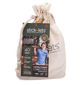 Stick-lets Stick-lets Camouflage schoolset - 40 stick-lets