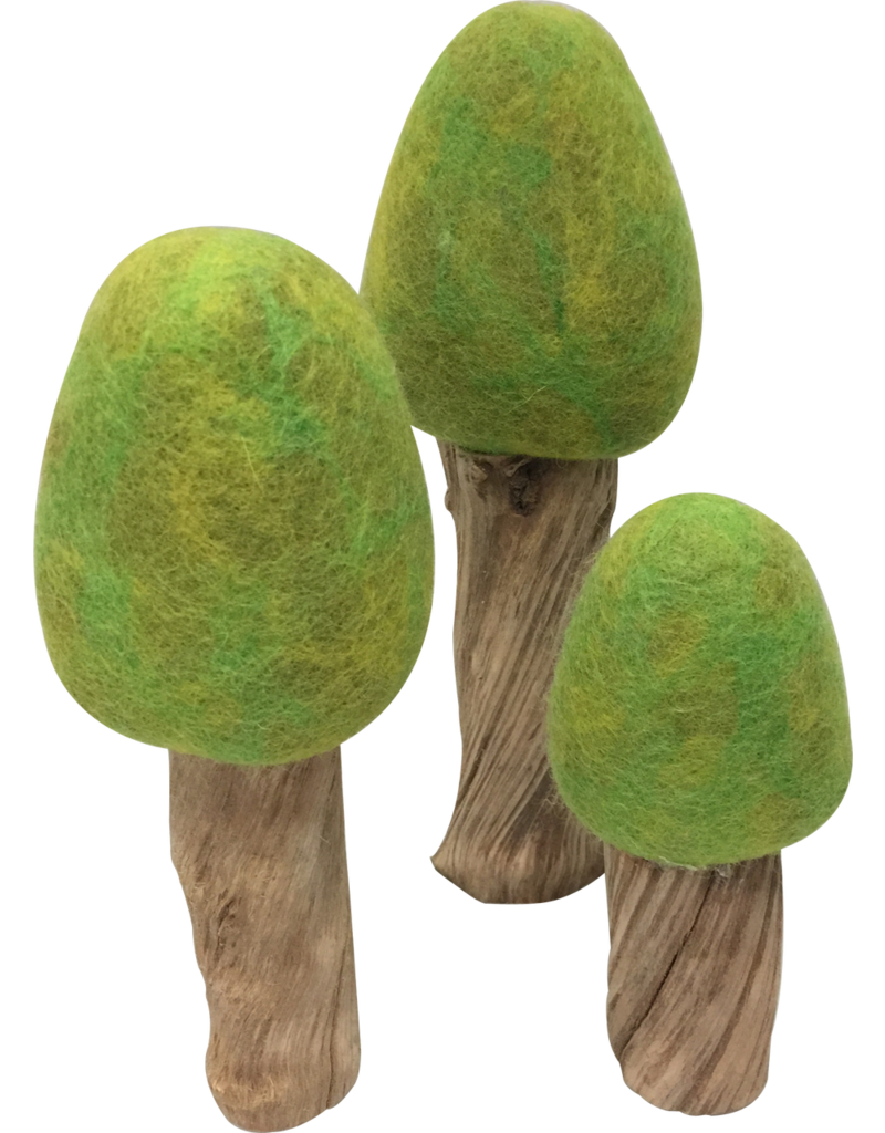 Papoose Toys Spring trees / 3 pcs