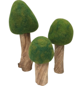 Papoose Toys Summer trees / 3 pcs