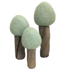 Papoose Toys Earth trees summer / 3 pcs