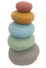 Papoose Toys Earth stack / 5 pcs