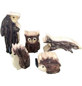 Papoose Toys Small woodland animals / 5 pcs