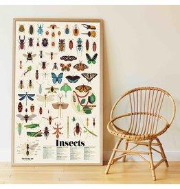 Poppik Poppik Stickerposter Insecten